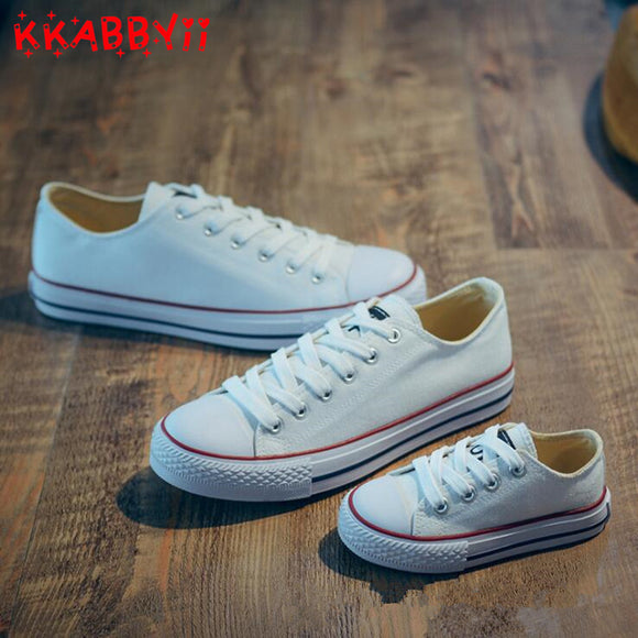 Kids Shoes for Girl Children Canvas Shoes Boys Sneakers New Spring Girls Shoes White Short Solid Fashion Children Shoes