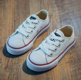 Kids Shoes for Girl Children Canvas Short Solid Fashion