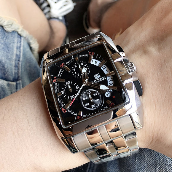 Men's Big Dial Luxury Sports Watches