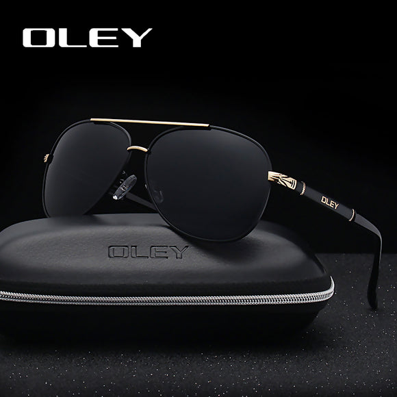 OLEY Brand Sunglasses Men Polarized Fashion Classic Pilot Sun Glasses Fishing Driving Goggles Shades For Men/Women Y7005
