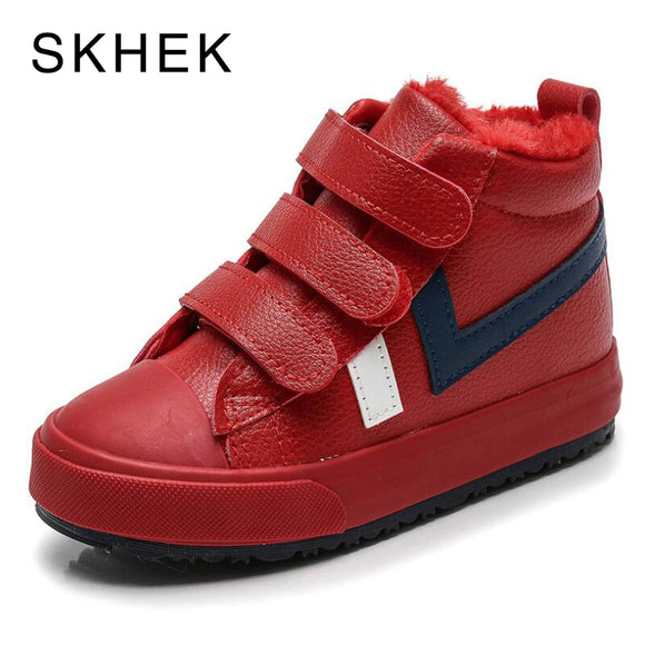 Kids Girls Boots Leather Boots Casual Child Shoe Boys