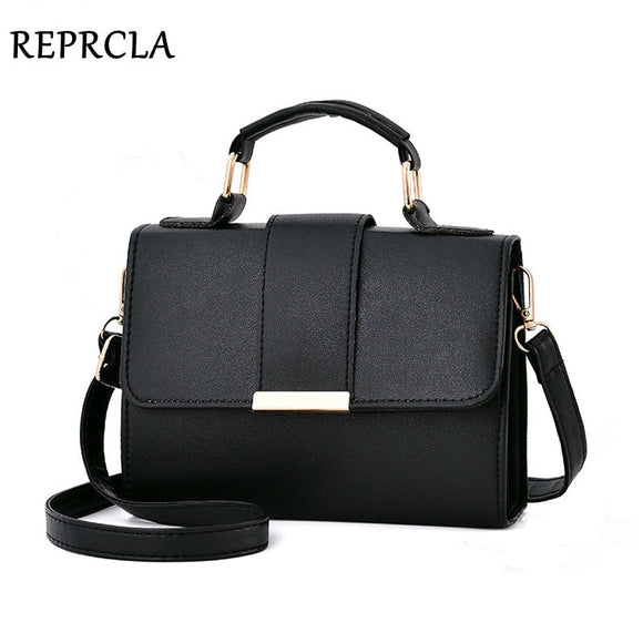 REPRCLA 2019 Summer Fashion Women Bag Leather Handbags PU Shoulder Bag Small Flap Crossbody Bags for Women Messenger Bags