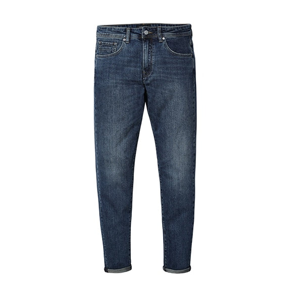 SIMWOOD 2019 New Mens Classical Jeans High Quality