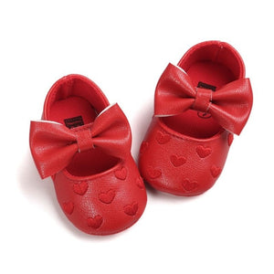 Baby PU Leather Baby Boy Girl Baby Non-slip Footwear Crib Shoes