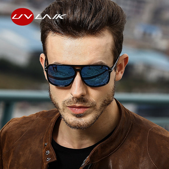 Men Polarized Mirror Goggles Sun Glasses HD Driver Sunglass