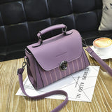 YINGPEI Brand Women PU leather Shoulder student Messenger Bag