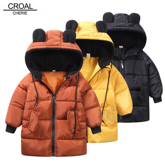CROAL CHERIE Girls Jackets Kids Boys Coat Children Winter