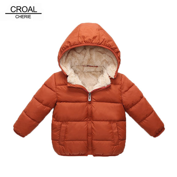 CROAL CHERIE Children's Parkas Winter Jacket For Girl Boys Winter Coat