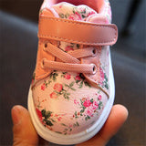 DIMI 2018 Cute Flower Baby Girls Shoes Comfortable Leather Kids Sneakers For Girl Toddler Newborn Shoes Soft Bottom First Walker