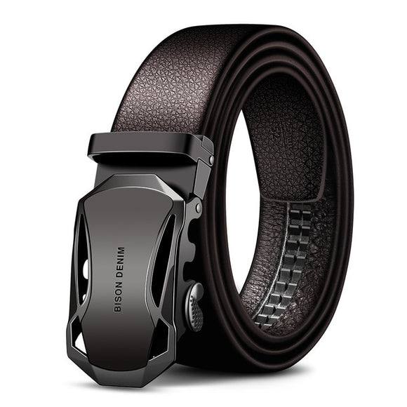 DENIM Men's Cow Leather Belts Brand Fashion Automatic