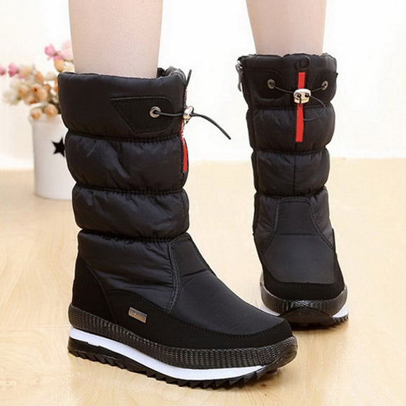 Women snow boots winter boots waterproof non-slip boot