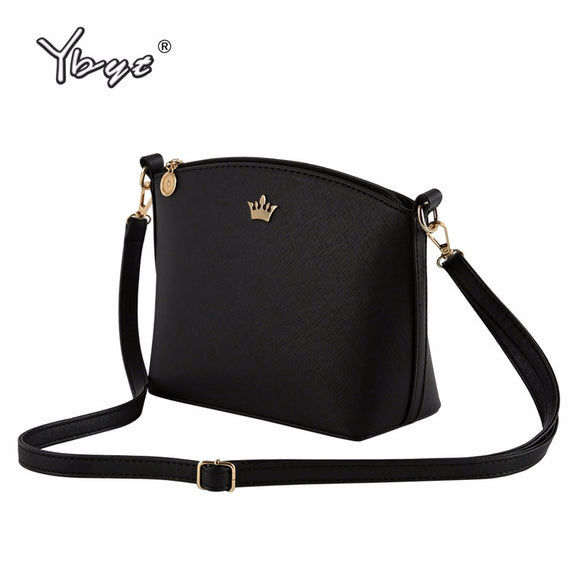 Casual small imperial crown candy color handbags new fashion clutches ladies