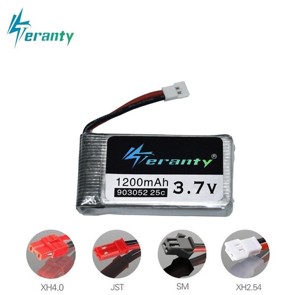 3.7V 1200mAh 25C Lipo Battery for Syma X5 X5C X5SW X5SC X5S X5SC-1 M18 H5P RC Quadcopter 1200mAh 903052 3.7V battery for SYMA