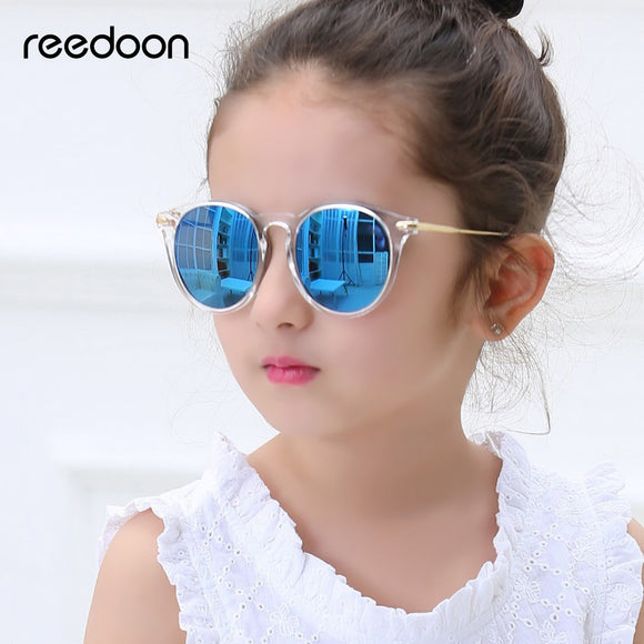 Reedoon Kids Sunglasses Fashion UV400 HD For Girls Boys infantil 2958
