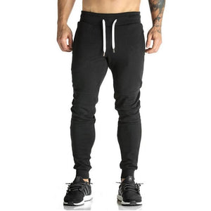 Mens Sweatpants Gym Fitness Bodybuilding Joggers Workout Trousers