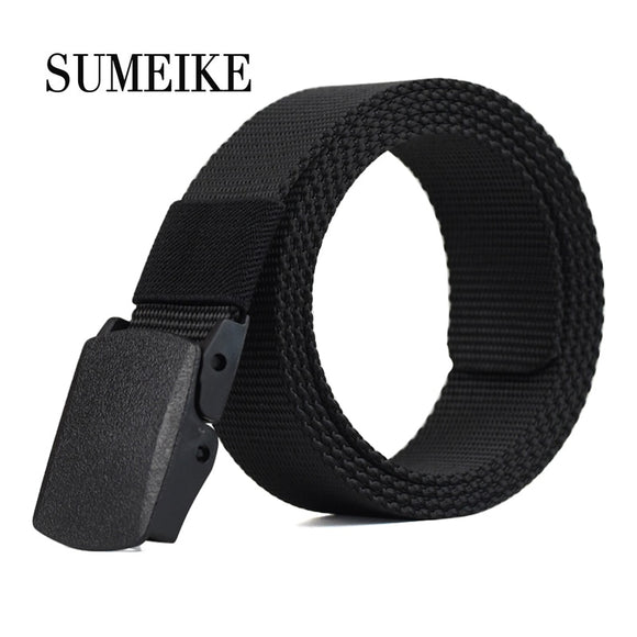 110-130CM Outdoor Nylon Belt Male Army Military Tactical Belt Men's Waist Canvas Belts Cummerbunds Strap
