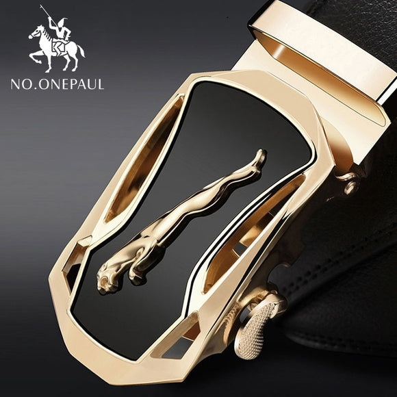 NO.ONEPAUL Waist Strap New Designer Men's Belts Luxury High Quality