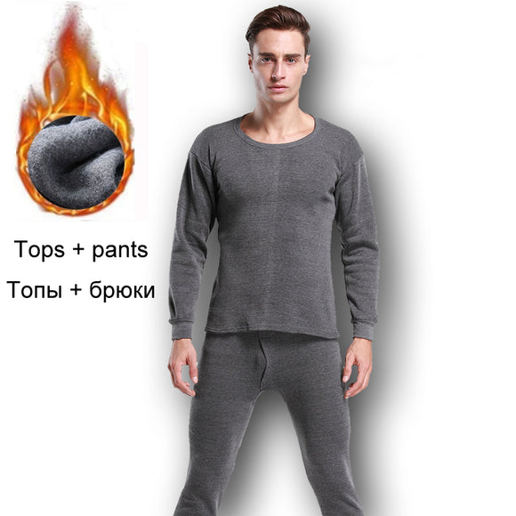 Thermal Underwear Sets For Men Winter Thermo Underwear Long Johns Winter Clothes