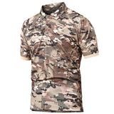 Men Quick Dry Summer Military Polo Shirt Army Combat Tactical