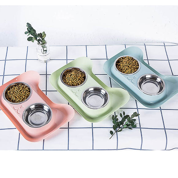 Double Dog Bowl  High Quality Universal Pet Feeder