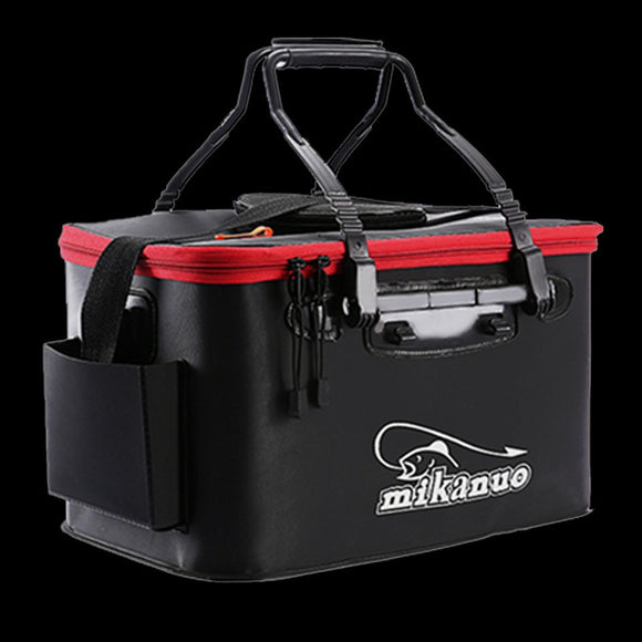 FISH Portable EVA Fishing Bag Collapsible Fishing Bucket Live Fish Box