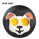 Egg Pancake Rings Funny Breakfast Skull Rabbit Owl Cat Shape Egg Mold