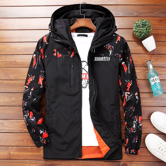 Men's Jackets Camouflage Military Hooded Coats
