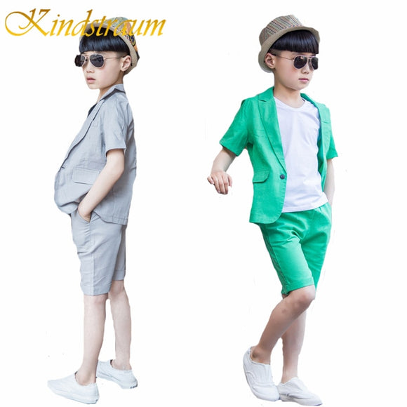 Kindstraum 2019 Summ New Fashion Boys Formal New Fashion Boys Formal Suits Kids Wedding Clothing Sets, MC704