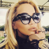 ZXWLYXGX 2020 Fashion Cat Eye Sunglasses Women Brand Designer
