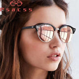Psacss Vintage Polarized Sunglasses Retro Rivet Round Brand
