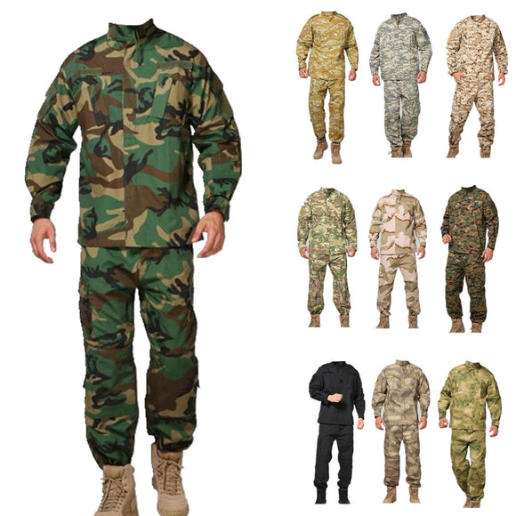 Kryptek Mandrake Army tactical airsoft uniform camouflage military bdu combat uniform men clothing set