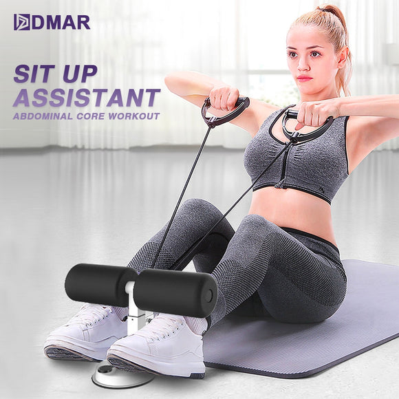 Sit Up Assistant Abdominal Core Fitness Adjustable Sit Ups Exercise