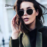 2020 Retro Round Sunglasses Women Brand Designer Sun Glasses For Women