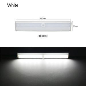 Wireless LED Under Cabinet Light PIR Motion Sensor Lamp