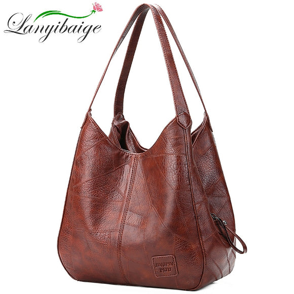 2020 Vintage Women Shoulder Bag Female Causal Totes Bags Large Capacity