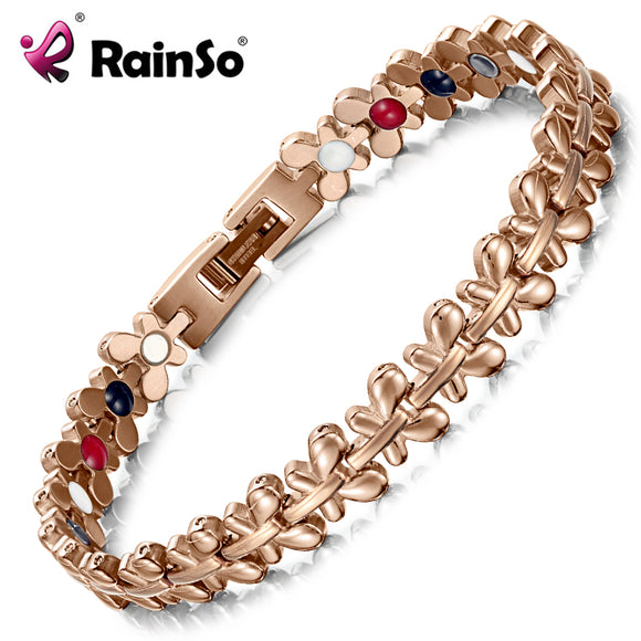 Magnetic Bracelet Women Jewelry High Power Therapy Germanium Bracelet