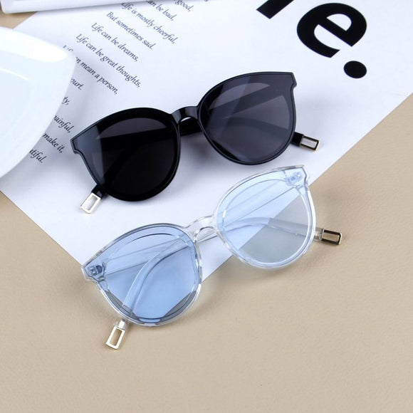 Vintage Cat Eye Kids Sunglasses For Baby Children Boys Girls Sunglasses