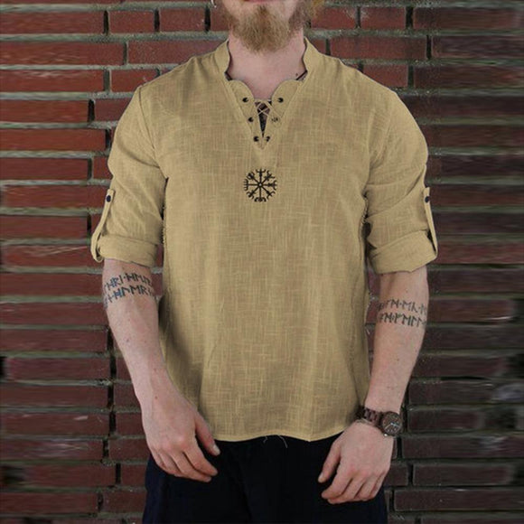 Casual Men's Summer New Style Fashionable Cotton Shirt