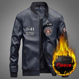 New Autumn Winter Motorcycle Leather Jacket