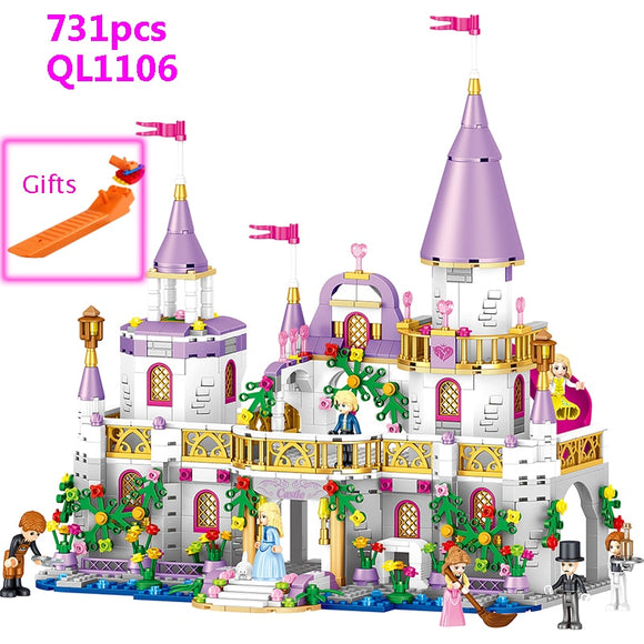 Princess Castle Building Blocks Compatible Gifts