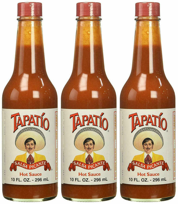 3 Pack Tapatio Salsa Picante Hot Sauce 10 oz (3 pack)