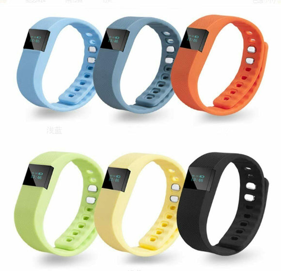 TW64 Waterproof Bluetooth 4.0 Activity Tracker Sport Bracelet Wristband