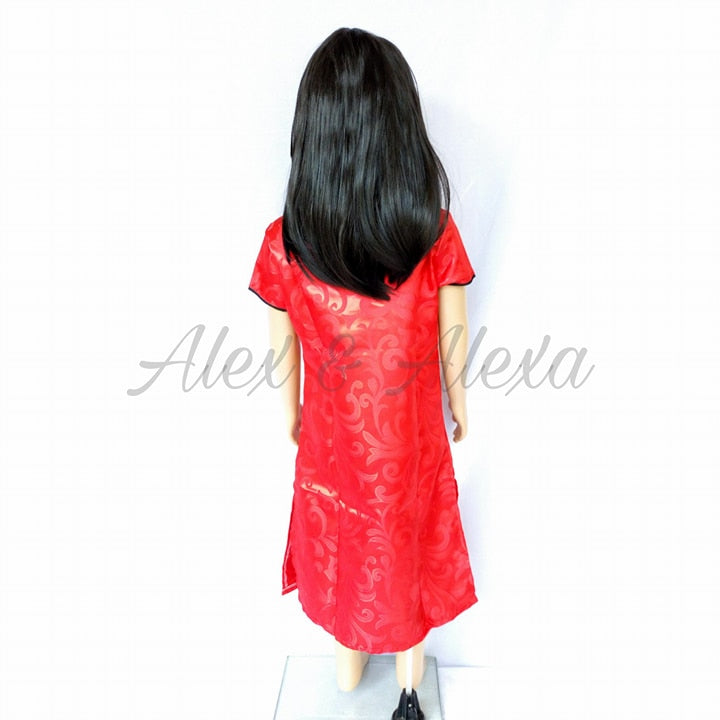 CHINA GIRL CHINESE Kids Regular Traditional Dress National Costume - Alex u0026 Alexa Costume Boutique ...  sc 1 st  Alex and Alexa Costume Boutique and Photography Studio & CHINA GIRL CHINESE Kids Regular Traditional Dress National Costume ...