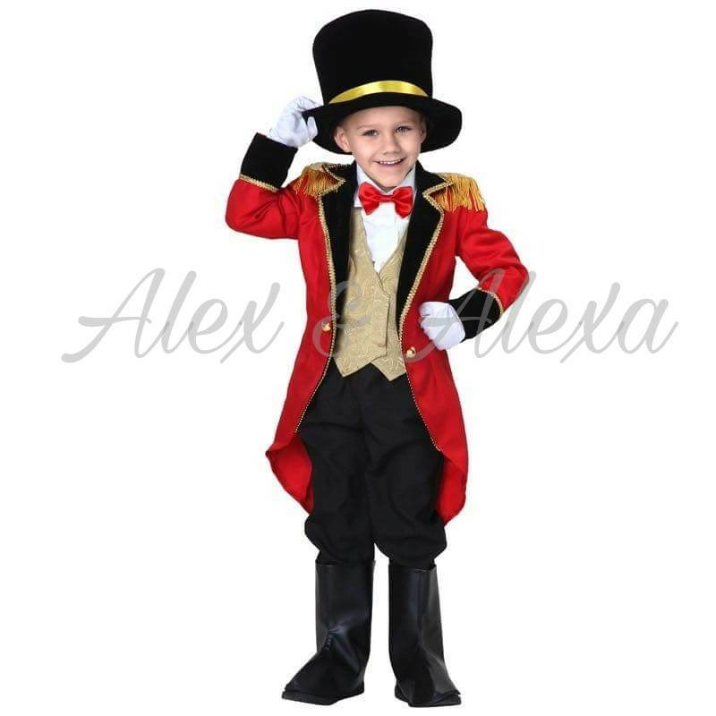 RINGMASTER CIRCUS Kids Boys Character Costume - Alex u0026 Alexa Costume Boutique ...  sc 1 st  Alex and Alexa Costume Boutique and Photography Studio & RINGMASTER CIRCUS Kids Boys Character Costume - ALEX u0026 ALEXA PH