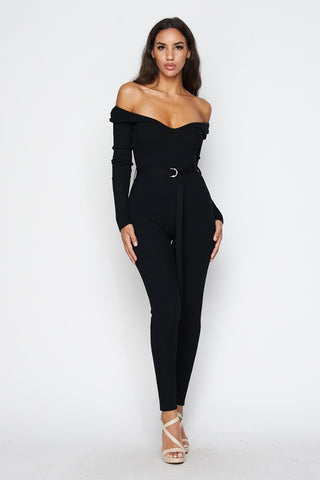 Own the Night Jumpsuit