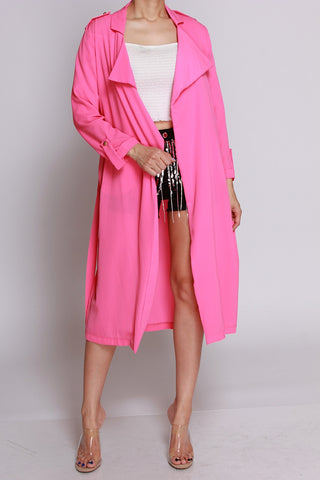 Bring In The Spring Neon Pink Jacket