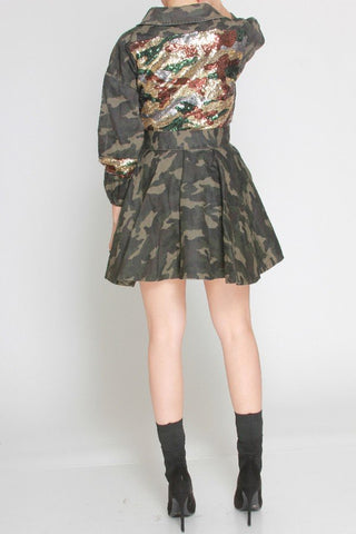 Army Bling Camo Jacket
