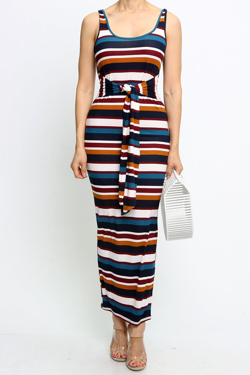 Sass & Stripes Maxi Dress