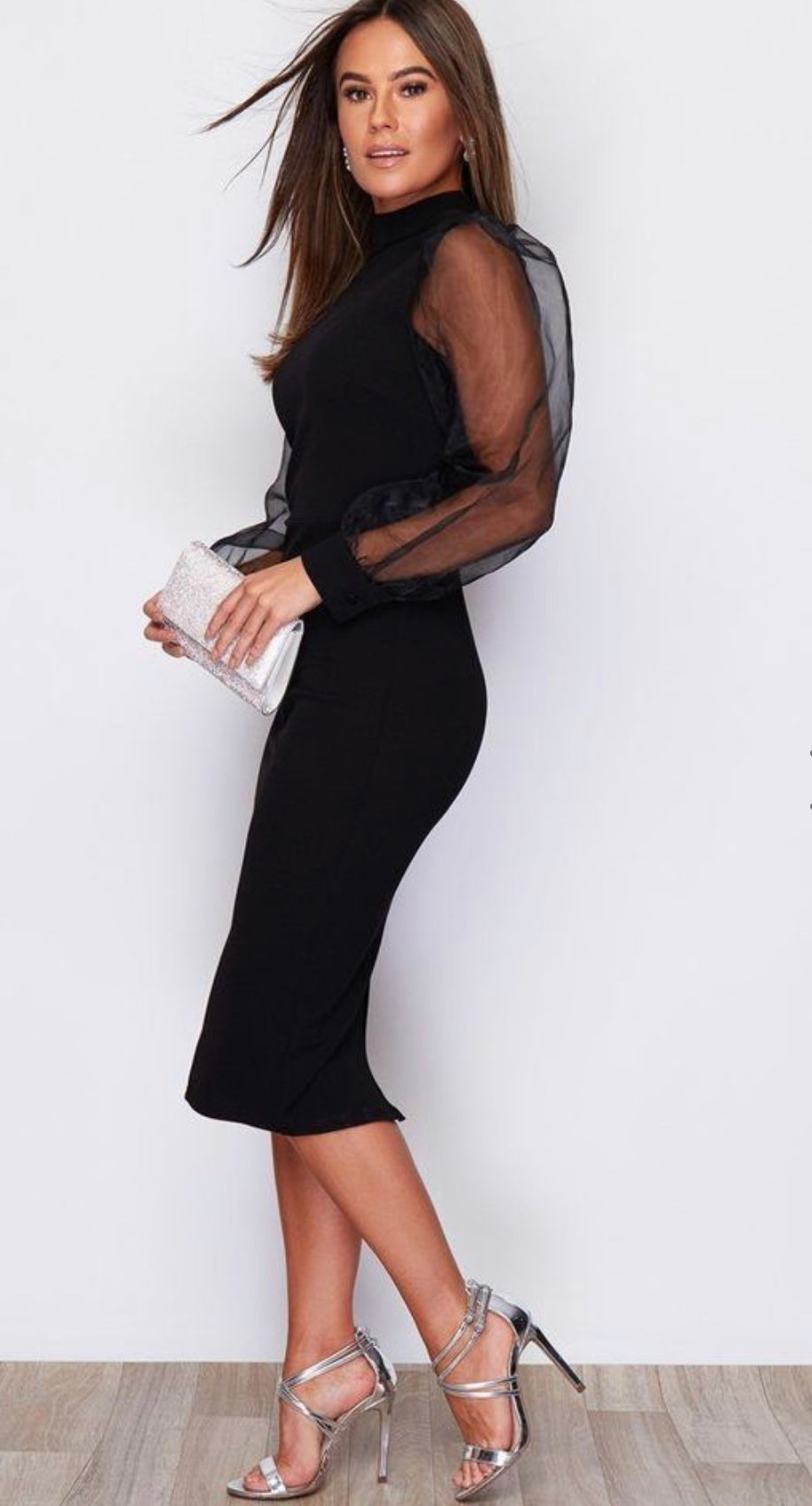 The Classy Puff Sleeve Dress  **Sizes Small - 2XL