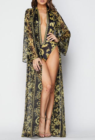 Miami Chic Monokini and Coverup